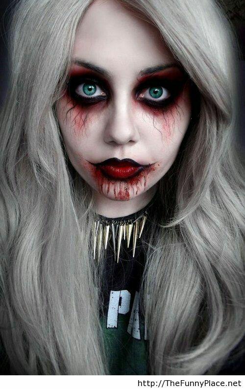 dead women halloween makeup