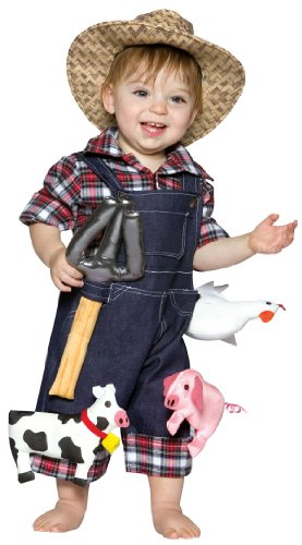 little farmer toddler halloween costume