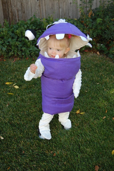 monster inc halloween costume