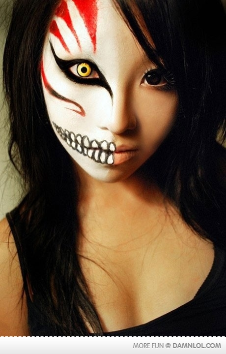 30 Best Creepy-Scary Halloween Makeup Ideas 2015 For Girls ...