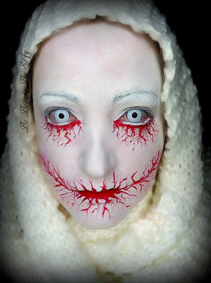 scary zombie halloween makeup