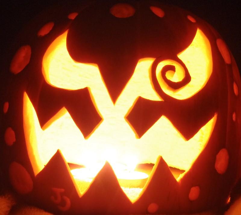 spiritomb pumpkin idea