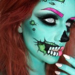 creepy-scary Halloween makeup ideas 2015