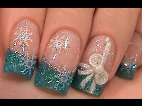 beautiful winter nail art