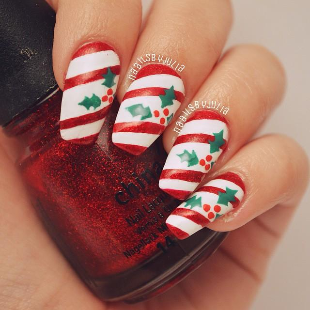 30 Gorgeous Winter Nail Designs Ideas For 2015-16