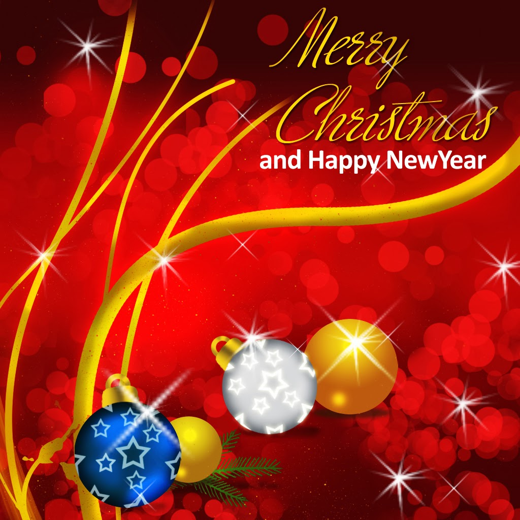 50 Beautiful Merry Christmas And Happy New Year Pictures ...