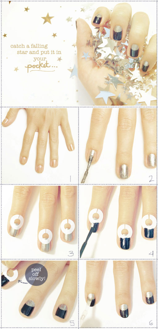 blue moon nails tutorial