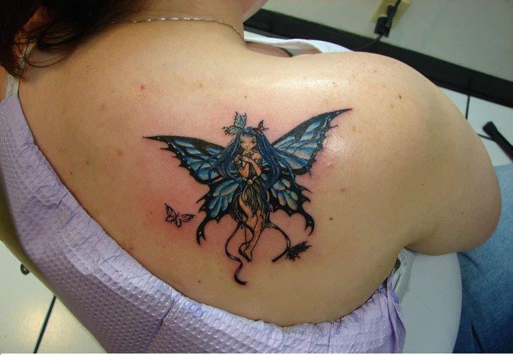 Fairy Tattoo Designs For Women