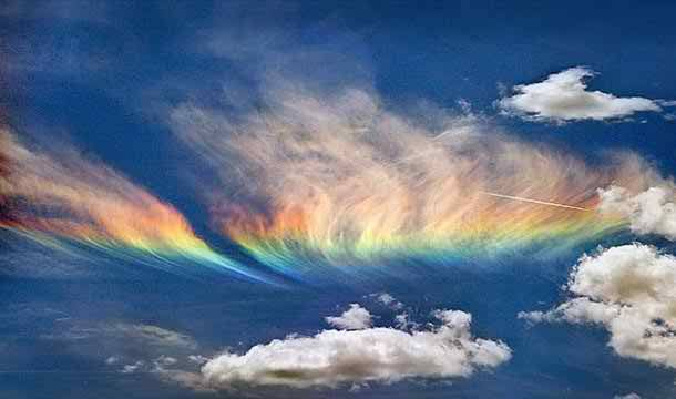 Fire Rainbow in Idaho