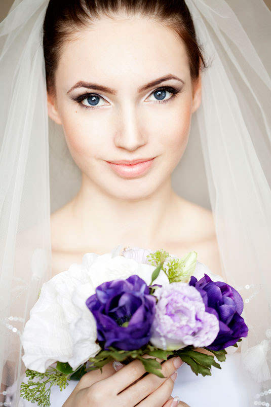 Gorgeous Bridal Wedding Makeup Trend No 6