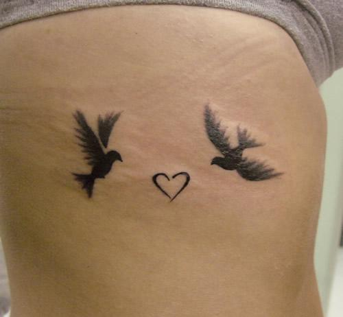 love birds tattoo