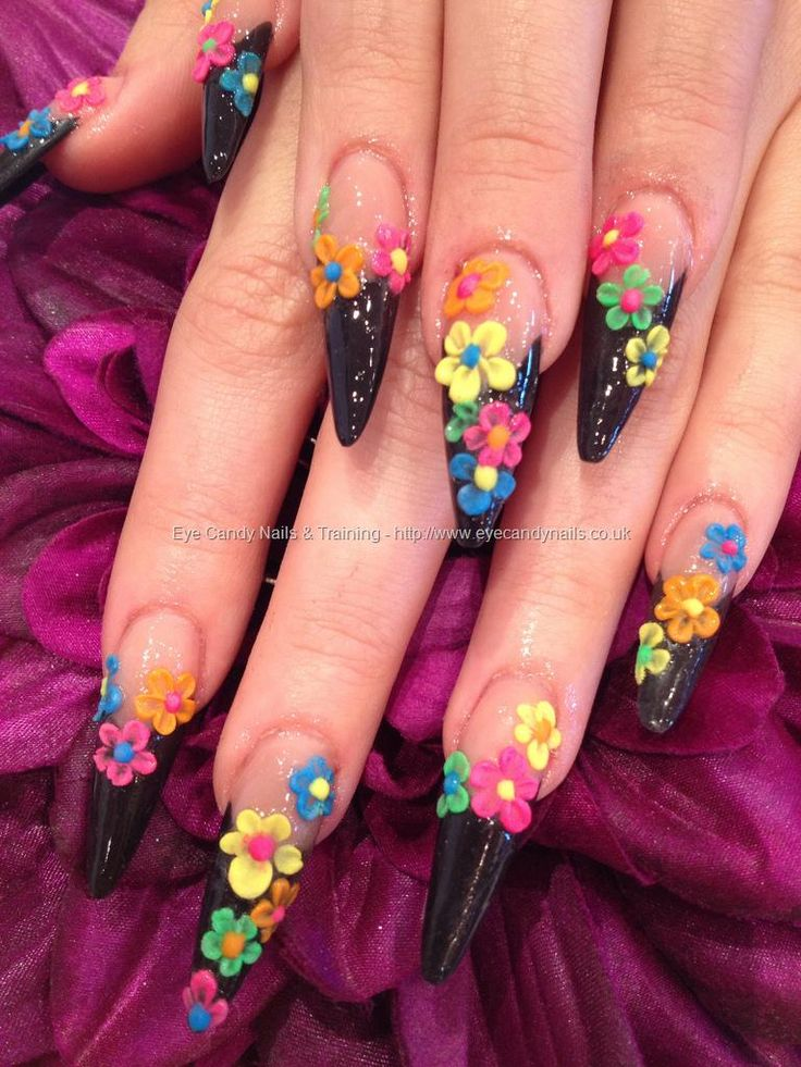 How To Make Acrylic Flowers For Nails Flowers Healthy