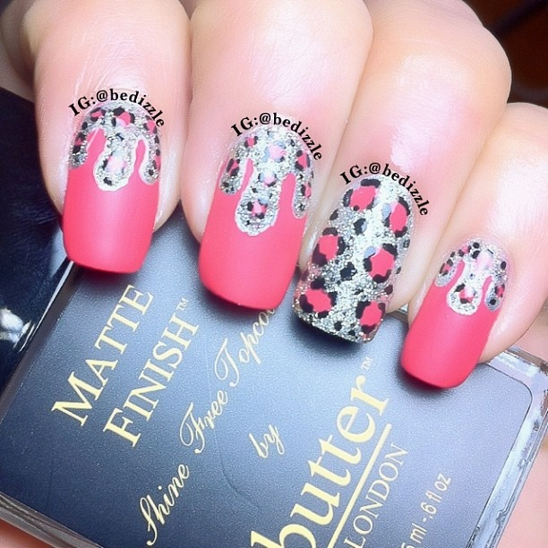 bedizzzle matte nails