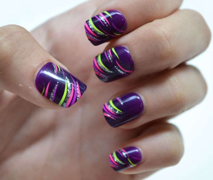 40 really simple cute nail design ideas for girls entertainmentmesh fancy nail art prinsesfo Gallery