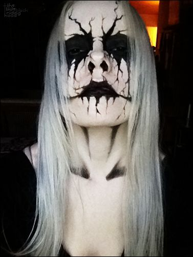 25+ Evil-Scary Halloween Face Paint Ideas For Women | EntertainmentMesh
