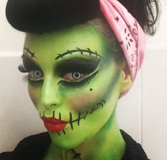 zombie-pin-up-evil-doll-face-paint
