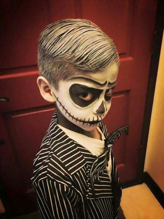 Best Ideas Paint Kids Faces Halloween Day