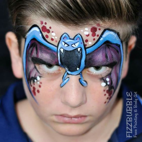 zubat-face-paint