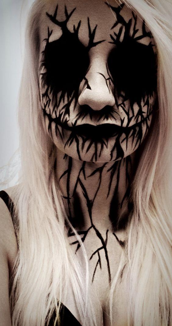 evil-spirit-face-makeup