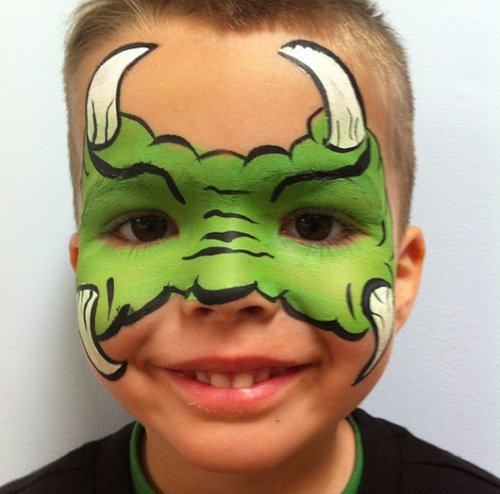 monster-kid-face-paint