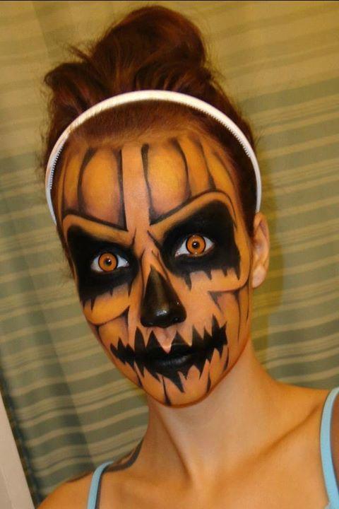 pumpkin-evil-makeup
