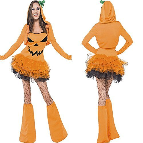 pumpkin-hood-costume-for-girls