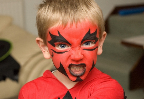24 Best Ideas To Paint Kids Faces On Halloween Day | EntertainmentMesh
