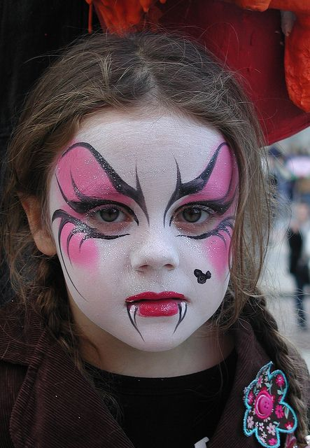 24 best ideas to paint kids faces on halloween day. Black Bedroom Furniture Sets. Home Design Ideas