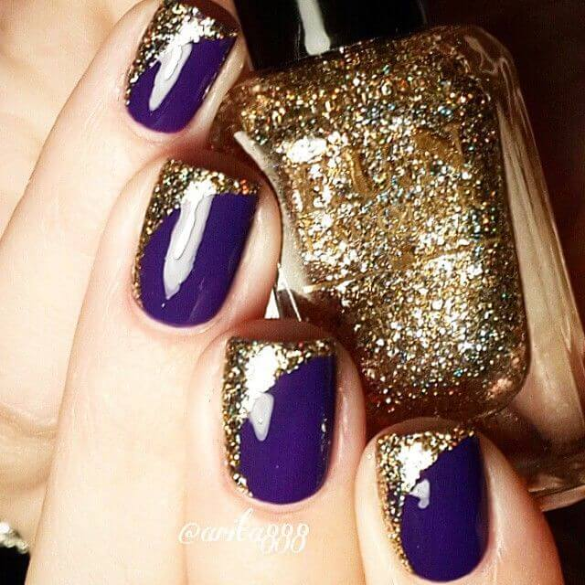 2-purple-and-gold-nail-design