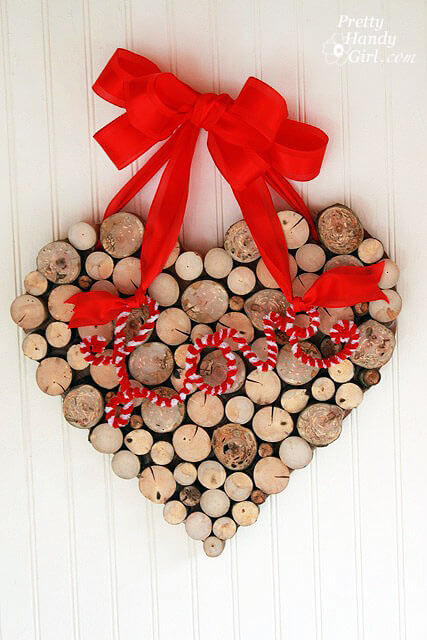 Wreath Heart From Tree Branches
