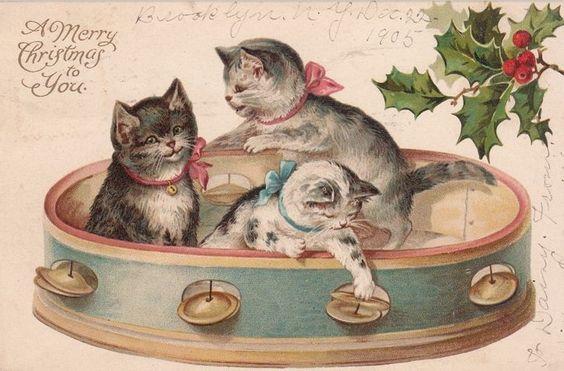 A Merry Christmas to you postcard