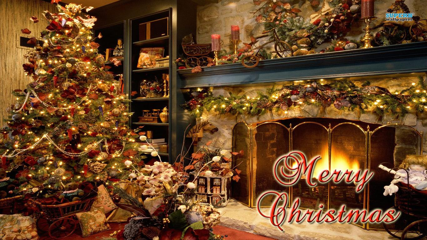 Merry Christmas free HQ wallpaper
