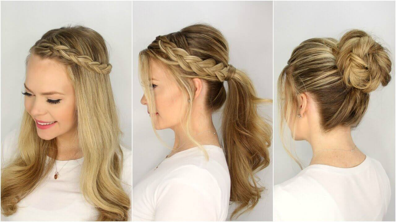 Beautiful Easy Hairstyles Step By Step Www Pixshark Com