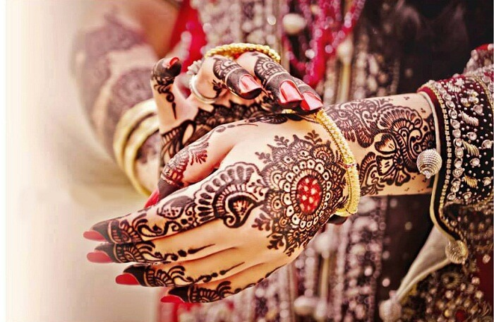 bridal mehndi design for hands