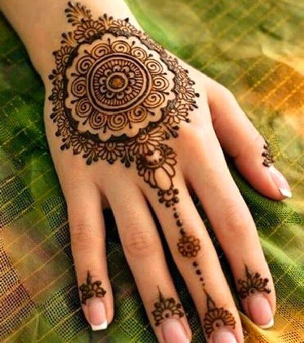 Mehndi Designs New Models : New beautiful hand henna mehndi design ideas for
