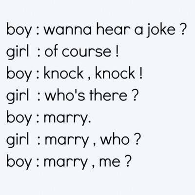 Boy Girl Knock Knock Joke