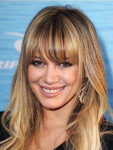 Hilary Duff Bangs
