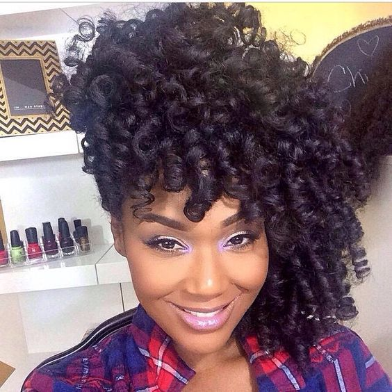 Crochet Braids Elegance : 20 Trendy Crochet Braid Hairstyles EntertainmentMesh