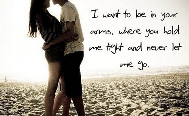 I want you love quote picture