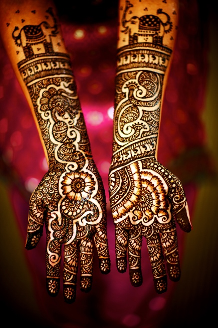 beautiful mughal empire traditional hand mehandi