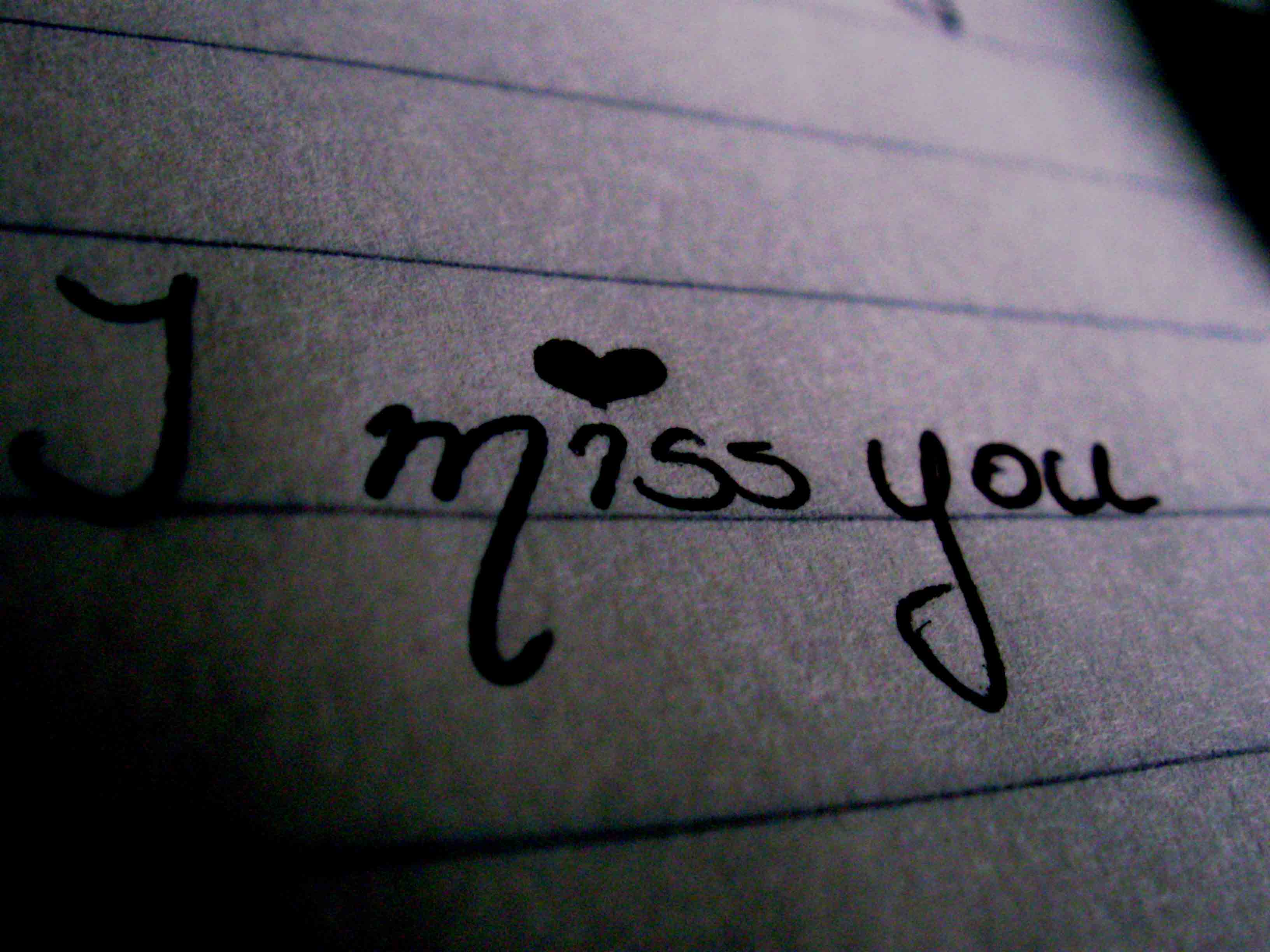 Wallpaper download i miss you - I Miss You Background Photo