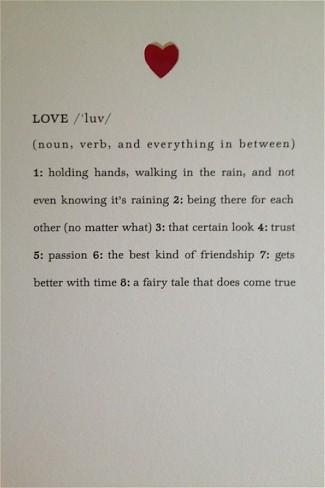 love noun-verb quote picture