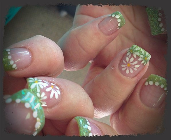 Cute acrylic nails for spring