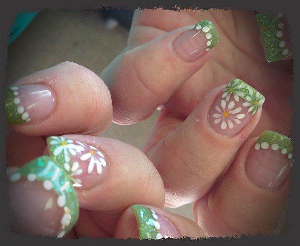 easy spring nail art