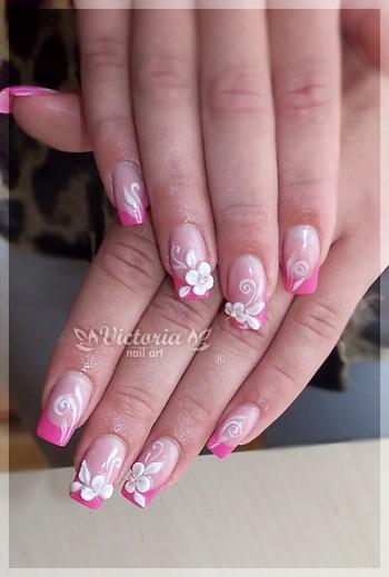 floral patterns spring nails