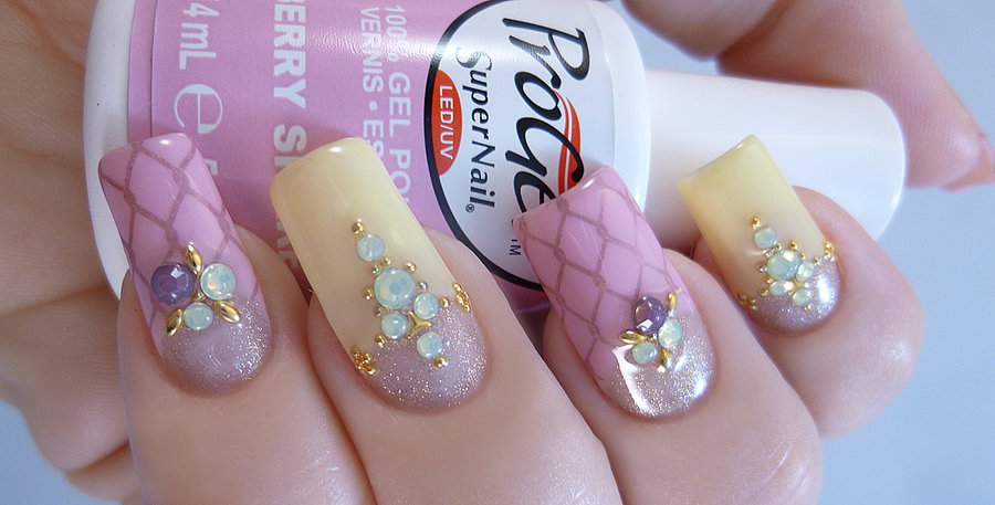 jewelry gems and studs spring nails