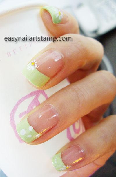 spring nail stamping