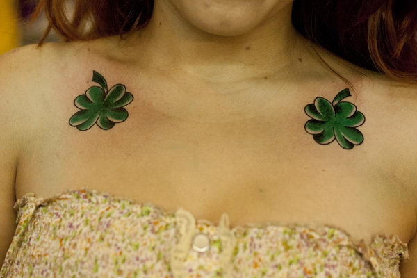 clover flower tattoo