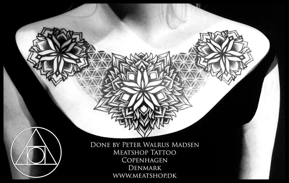 mandala flower of life tattoo