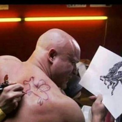 silly tattoos